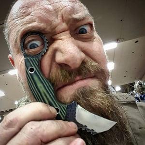 Neels Van Den Berg ABS JS   Topham Knife Co