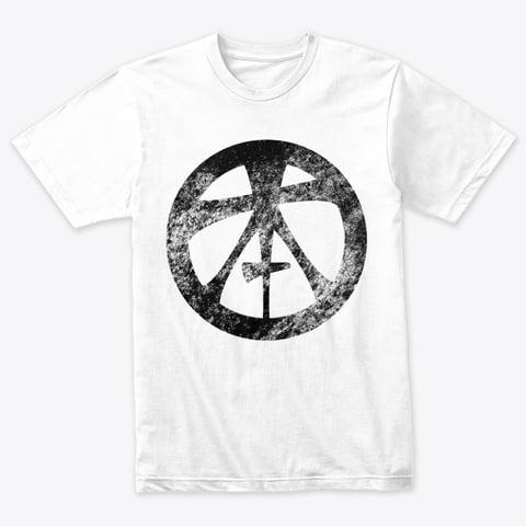 Topham Knife Co Grunge Logo on White