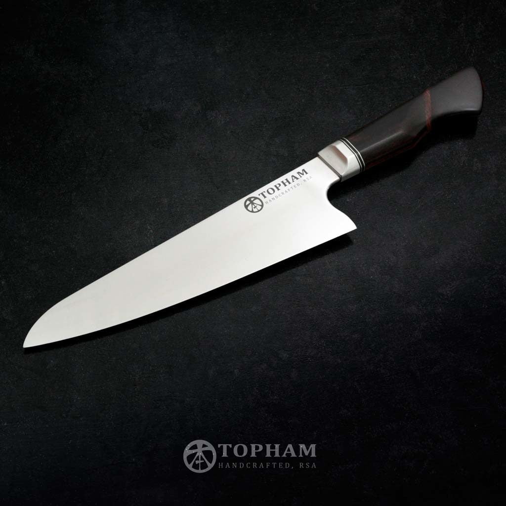Elmax 210mm Gyuto Chef Knife with redbushwillow and camelthorn